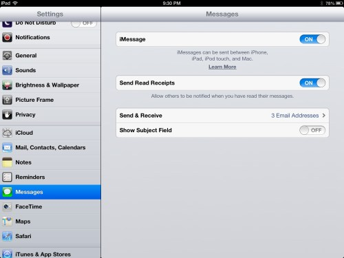 GearDiary Turn Off iMessage Before Switching Away from iOS