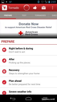 Tornado - an American Red Cross App for Android Review  Tornado - an American Red Cross App for Android Review  Tornado - an American Red Cross App for Android Review  Tornado - an American Red Cross App for Android Review  Tornado - an American Red Cross App for Android Review  Tornado - an American Red Cross App for Android Review