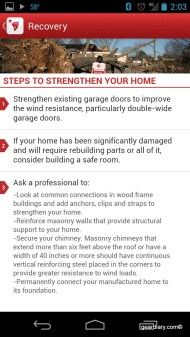 Tornado - an American Red Cross App for Android Review