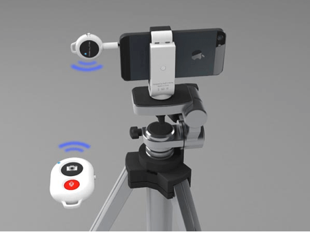 Shutter Release Grip and Remote Shutter Release Make iPhone Photography Even Better