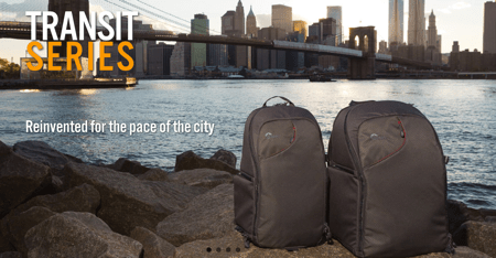 Lowepro Transit Series Offer City Style for Your Camera Gear