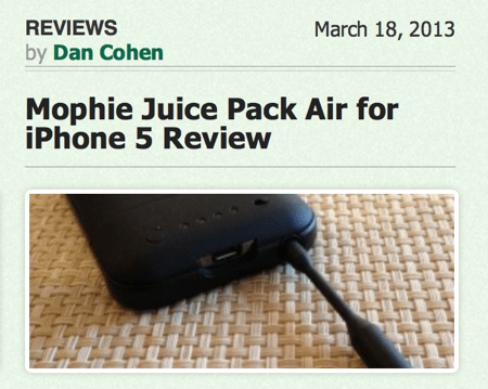 Get the Most from Your iPhone With the Mophie Juice Pack Plus  Get the Most from Your iPhone With the Mophie Juice Pack Plus  Get the Most from Your iPhone With the Mophie Juice Pack Plus