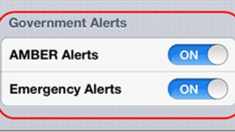 Wireless Emergency Alerts Coming to ATT iPhone Customers