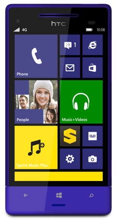HTC 8XT Windows Phone