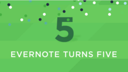 Evernote Turns Five- When Did You Subscribe?