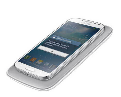 The Samsung Wireless Charging Pad for the Galaxy S 4
