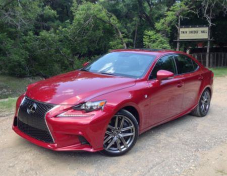 2014 Lexus IS images by Author