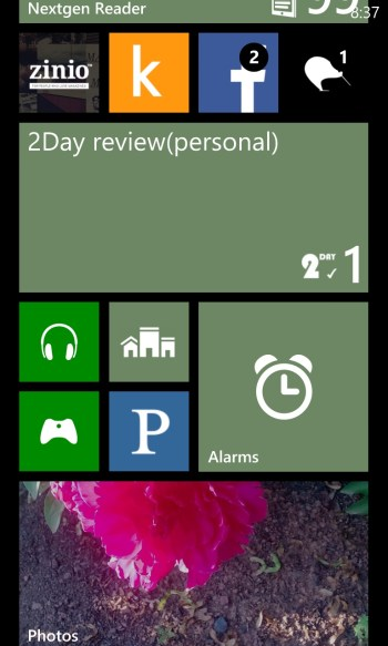 GearDiary 2Day Tasks App for Windows Phone Review