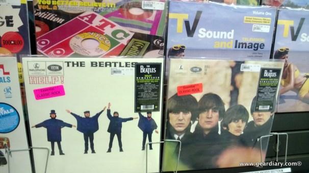 Original Beatles albums ...