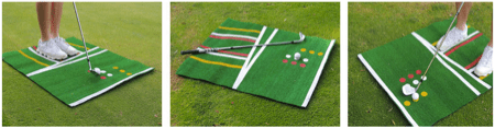 Introducing the Perfect Pitch Golf Mat - Portable Practice for Perfect Shots