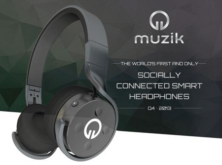 Muzik Socially Integrated Headphones
