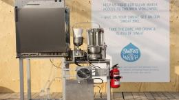 Sweat Machine from UNICEF Turns Perspiration into Drinking Water