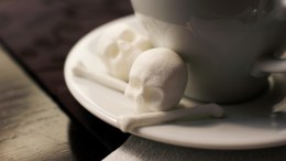 Sugar Skulls for Your Coffee - More Meditative Than Macabre