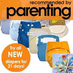 Jillian's Drawers Makes Trying Cloth Diapers Economical and Fun!