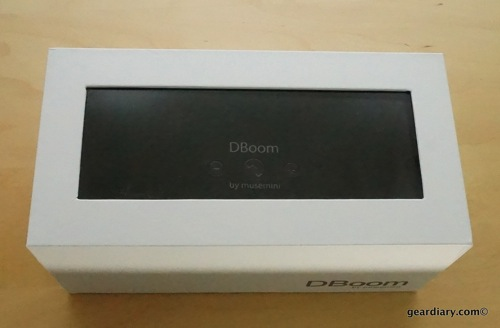 DBoom Custom Bluetooth Speaker from Musemini Review