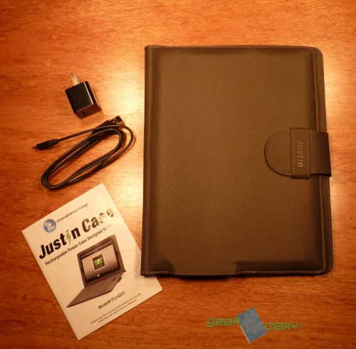 Justin Case Rechargeable iPad Battery Case Review  Justin Case Rechargeable iPad Battery Case Review