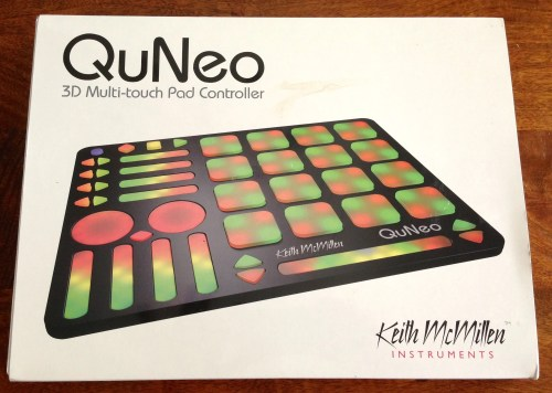 Keith McMillen QuNeo 3D Pad Controller Review