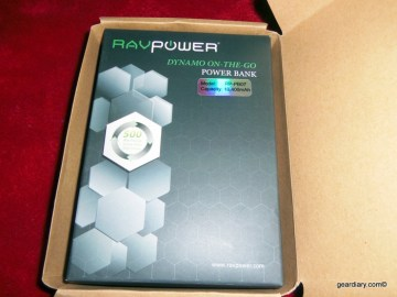 RAVPower RP-PB07 10400mAh Portable External Battery Pack Charger Review