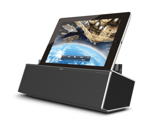 iLuv Mo 'Beats HD High Definition Rechargeable Bluetooth Speaker with Viewing Cradle