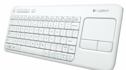 GearDiary Logitech's Wireless Touch Keyboard K400 Now in White