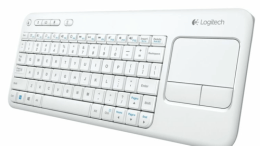 Logitech's Wireless Touch Keyboard K400 Now in White