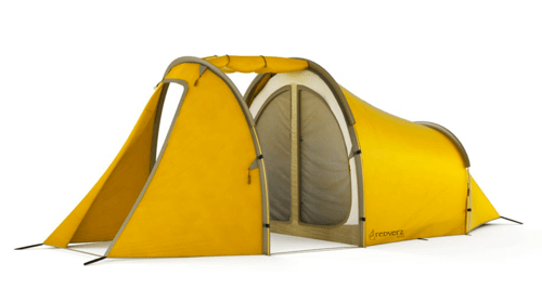 Redverz Gear's Series II Expedition Tent Includes a Garage  Redverz Gear's Series II Expedition Tent Includes a Garage
