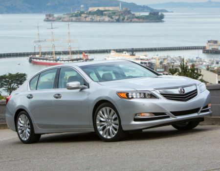 Living Large in the all-new 2014 Acura RLX