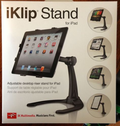 GearDiary iKlip Stand for iPad by IK Multimedia Hands-On Review