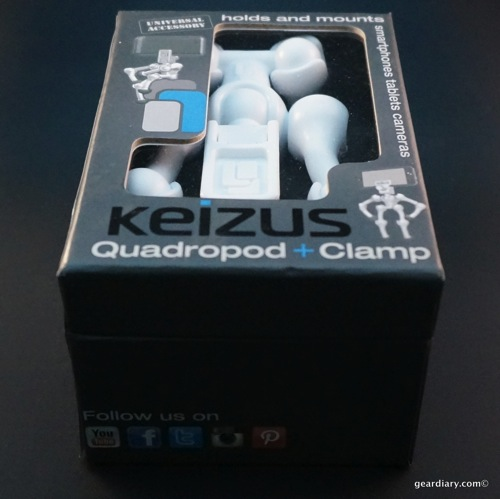 Keizus Quadropod + Clamp Review - a New Way to Hold Your Smartphone