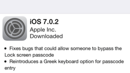 Now That Was Fast- iOS 7 Updated… Again