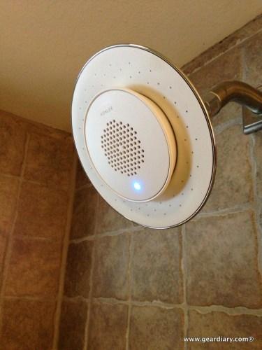 geardiary-kohler-moxie-showerhead-with-speaker-installed