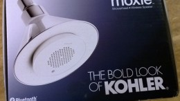 Kohler Moxie Showerhead + Wireless Speaker Review - Stream Music & News While You Shower