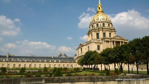 Napolean's Tomb is inside the Dôme des Invalides.