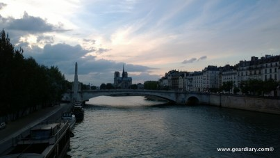 Notre Dame Cathedral seen from the Seine