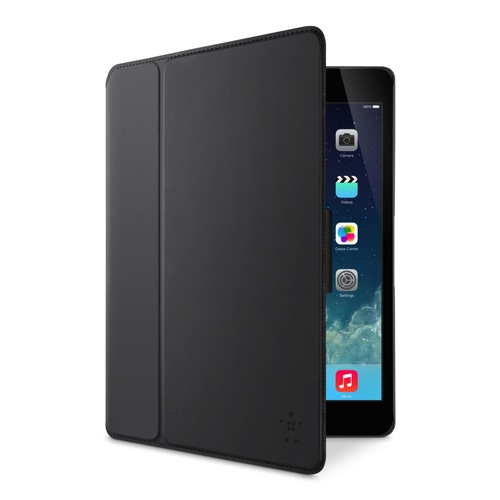 Belkin FormFit FreeStyle Cover iPad Air Blacktop front