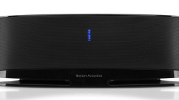 Boston Acoustics MC100 Blue Bluetooth Speaker System - Good Sound at a Great Price