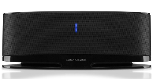 Boston Acoustics MC100 Blue Bluetooth Speaker System - Good Sound at a Great Price