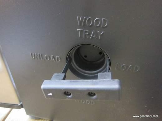 MasterBuilt Wood tray