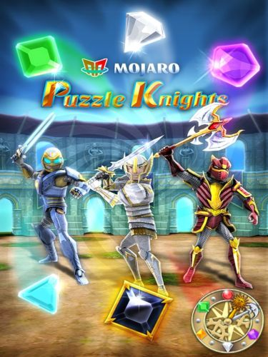 Puzzle Knights Melds Match-3 Fun and Strategic Battles!  Puzzle Knights Melds Match-3 Fun and Strategic Battles!