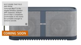 GearDiary Bigger Jabra Solemate Max Speaker Coming Soon