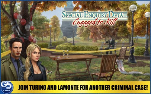 Special Enquiry Detail 2 - Engaged to Kill