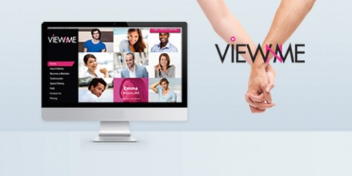 View N Me Online Dating Site Launched with Video Profiles and Online Webcam Speed Dating