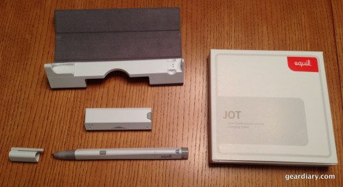 Everything here fits inside the charging case, besides the User Guide.