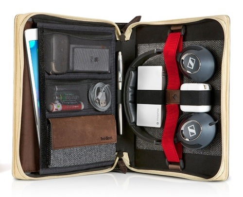 Twelve South's BookBook Travel Journal Is a Briefcase for Your iPad Air