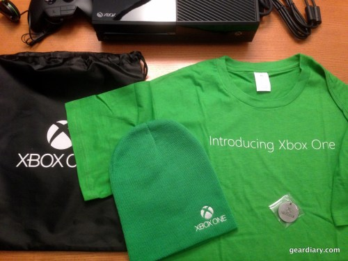 Xbox One Unboxing Video - Day One Edition with SWAG!