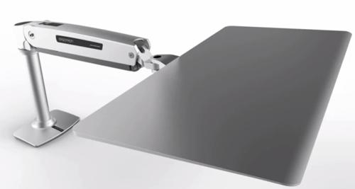 Ergotron Workfit P Sit Stand Workstation For Apple Lets