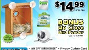 My Spy Birdhouse Takes Birdwatching to a Voyeuristic Level