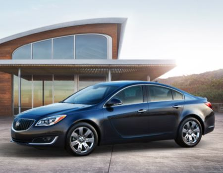 2014 Buick Regal Turbo/Images courtesy Buick