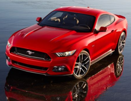 2015 Ford Mustang/Images courtesy Ford