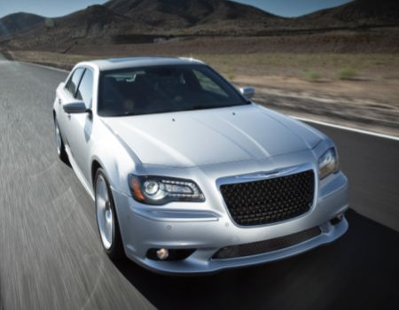 2013 Chrysler 300 SRT8/Images courtesy Chrysler